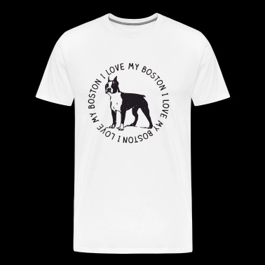 Boston Terrier Clothing - Men's Premium T-Shirt
