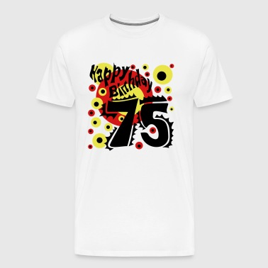 75 Years Birthday T-Shirt - Men's Premium T-Shirt
