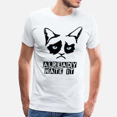 Unhappy Unhappy Cat - Men's Premium T-Shirt