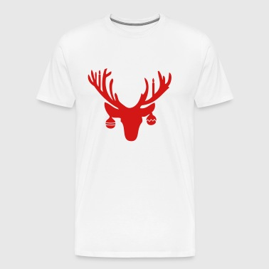 Christmas Antlers - Men's Premium T-Shirt