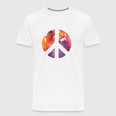 Peace sign pastel - Men's Premium T-Shirt