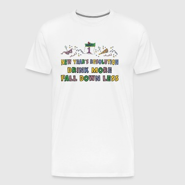 Funny New Year's Resolution - Men's Premium T-Shirt