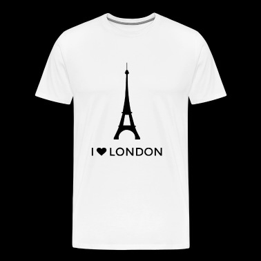 i love london Funny - Men's Premium T-Shirt