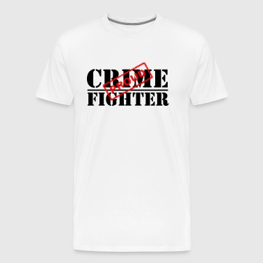 Proud Crime Fighter - Men's Premium T-Shirt