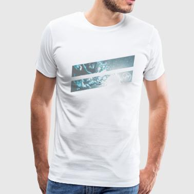 surf water bubble - Men's Premium T-Shirt