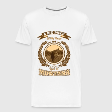 Montana – A big piece of my heart - Men's Premium T-Shirt