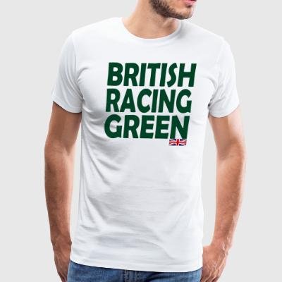 British Racing Green - Men's Premium T-Shirt