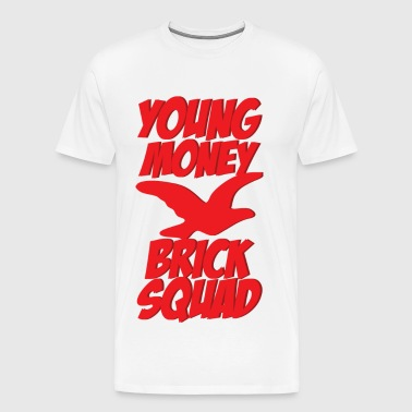 young money brick squad - Men's Premium T-Shirt