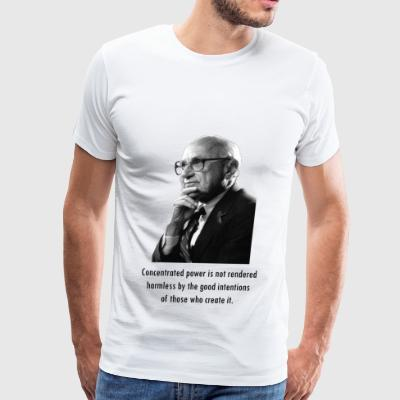 Milton Friedman Concentrated Power - Men's Premium T-Shirt