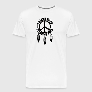 I Stand With Standing Rock - Men's Premium T-Shirt