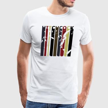 Retro Hitchcock - Men's Premium T-Shirt