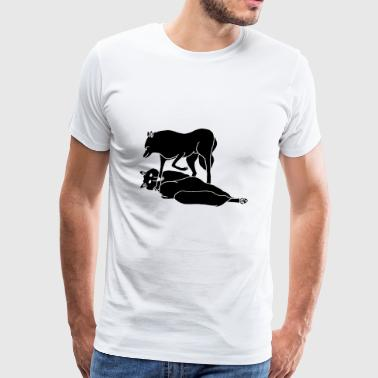 Wolfs - Men's Premium T-Shirt