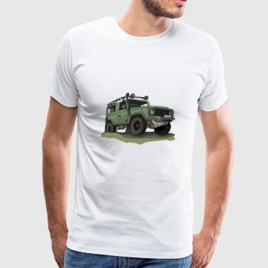 Defender - Ninety 90 - Men's Premium T-Shirt