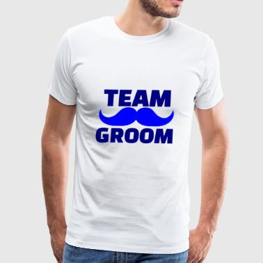 GIFT - TEAM GROOM BLUE - Men's Premium T-Shirt