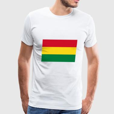 Bolivia country flag love my land patriot - Men's Premium T-Shirt