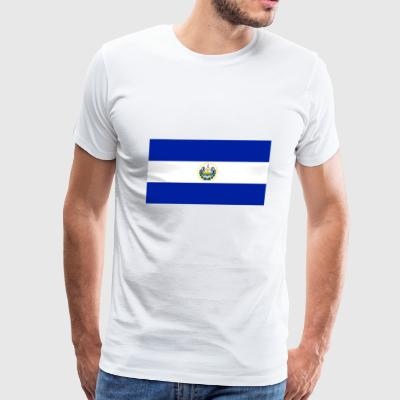 El Salvador country flag love my land patriot - Men's Premium T-Shirt