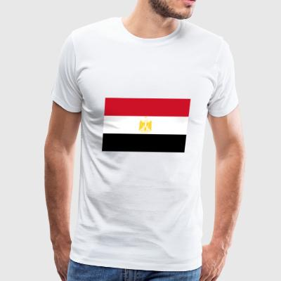 Egypt country flag love my land patriot - Men's Premium T-Shirt