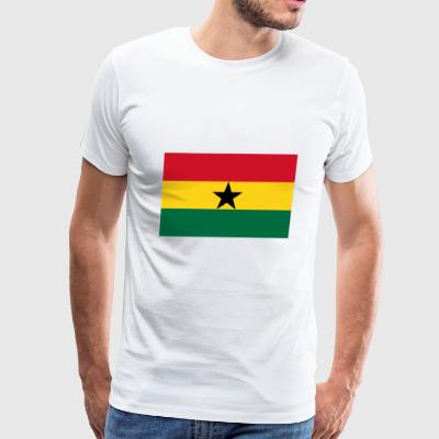 Ghana country flag love my land patriot - Men's Premium T-Shirt