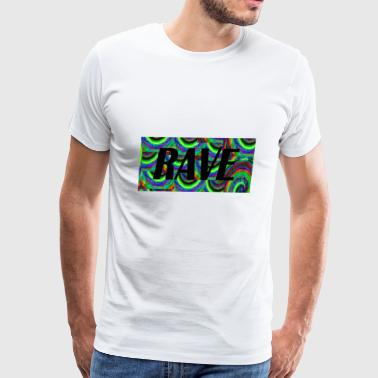 rave 4567 - Men's Premium T-Shirt