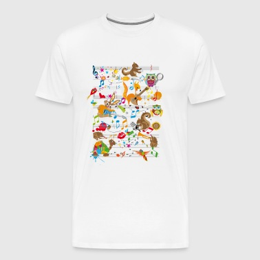 Concert of Animals - Men's Premium T-Shirt
