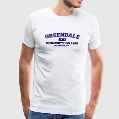 Greendale Community College - Men's Premium T-Shirt