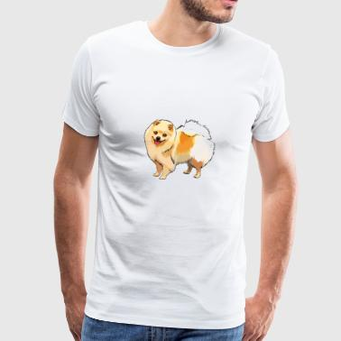 German Spitz (dog) - Men's Premium T-Shirt