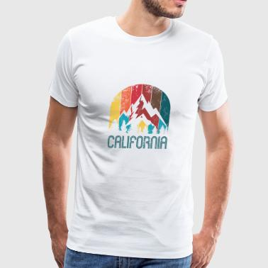 Retro California design for Men Women and Kids - Men's Premium T-Shirt