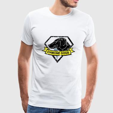 diamond dogs - Men's Premium T-Shirt