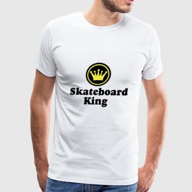2541614 13422560 skateboard - Men's Premium T-Shirt