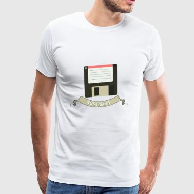 Magnetic floppy disk - Men's Premium T-Shirt