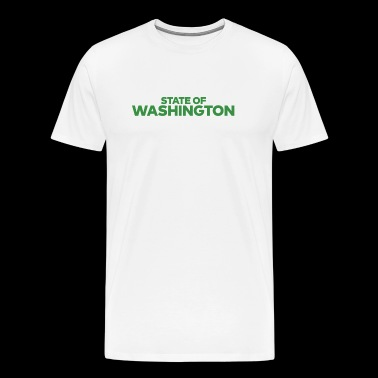 State Of Washington - Men's Premium T-Shirt