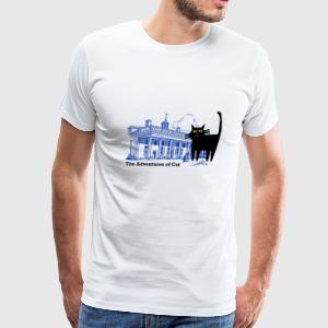 Cat Not on a Hot Tin Roof - Men's Premium T-Shirt