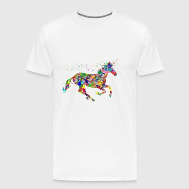colorful unicorn - Men's Premium T-Shirt