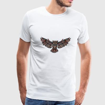 Angelic Raggae Owl - Men's Premium T-Shirt