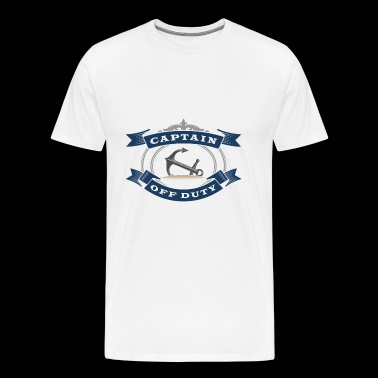 Captain Off Duty - Men's Premium T-Shirt