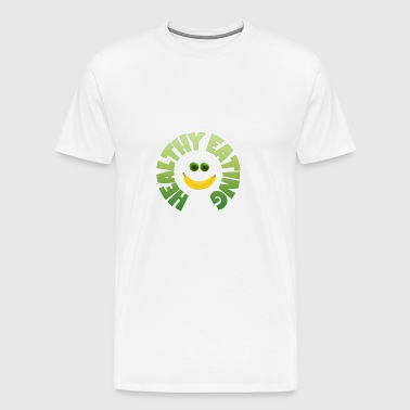 healthy eating - gesundes Essen - Men's Premium T-Shirt