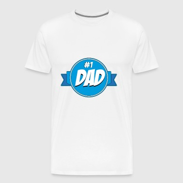 No1 Dad - Men's Premium T-Shirt
