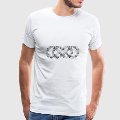 forever - double infinity - Men's Premium T-Shirt