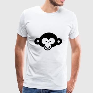 Crazy Monkey 3 - Men's Premium T-Shirt