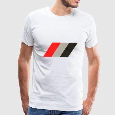audi flag - Men's Premium T-Shirt