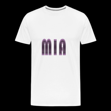 Mia name - Men's Premium T-Shirt