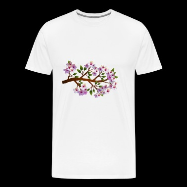 flowers blumen bloom blossom - Men's Premium T-Shirt