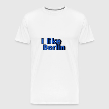 I like Berlin 02 - Men's Premium T-Shirt