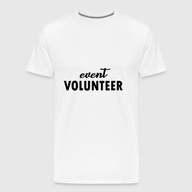 event volunteer - Men's Premium T-Shirt