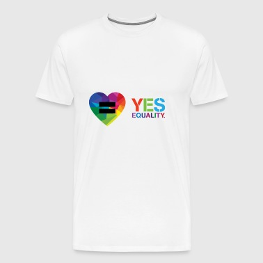 yes equality - Men's Premium T-Shirt