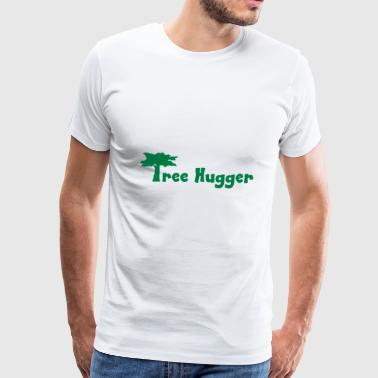 2541614 11148285 tree hugger - Men's Premium T-Shirt