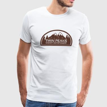 Twin Peaks Sheriff Department - Men's Premium T-Shirt