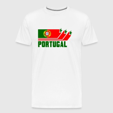 Portugal Design with Flag - Men's Premium T-Shirt