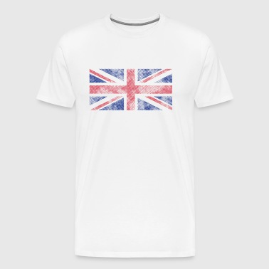 Union Jack Grunge - Men's Premium T-Shirt