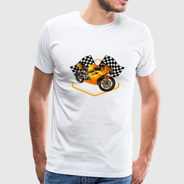 Hot Rod Racing Car / Gift Idea - Men's Premium T-Shirt